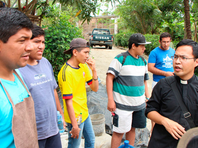 Missionaries in Manabi