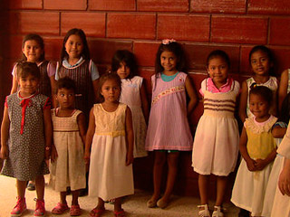 New Dresses for Poor Girls in Ecuador