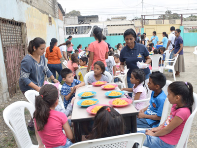 Second Soup Kitchen Opened in Guayaquil