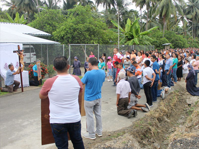 Holy Week Encounter in Playa Prieta