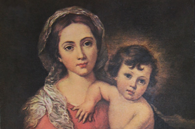 La Virgen y el Niño by Murillo